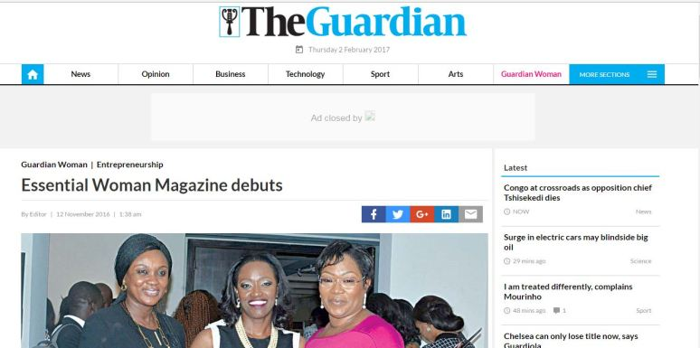 essential-woman-magazine-launch-guardian