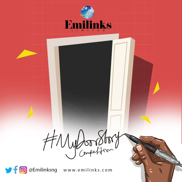 MY DOOR STORY COMPETITION BY EMILINKS.