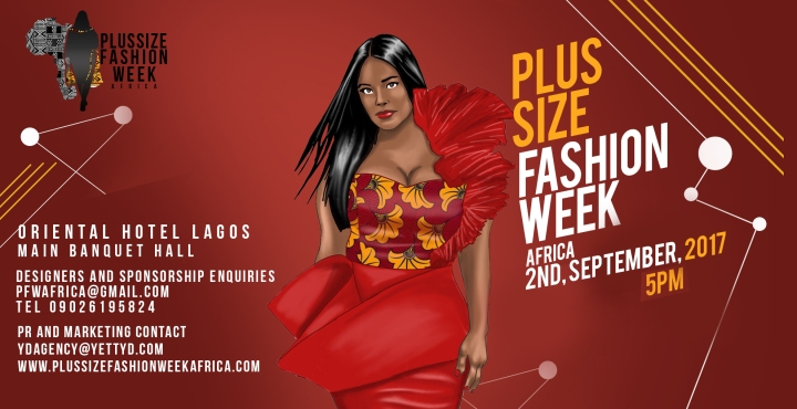 AFRICA'S FIRST PLUS SIZE FASHION WEEK SET TO HOLD
