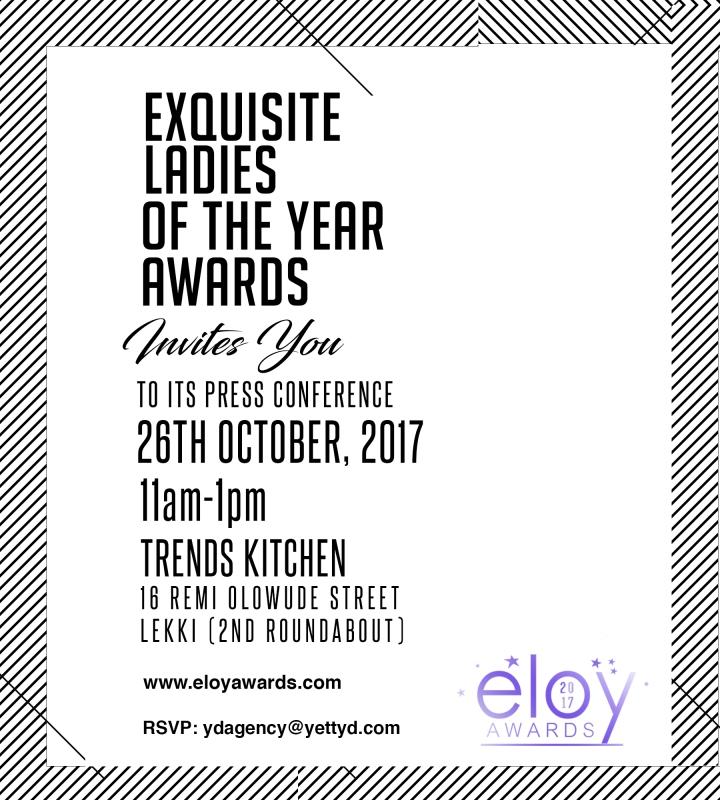 INVITATION TOELOYAWARDS 2017 PRESSCONFERENCE