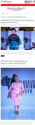 Plus Size Fashion Week Africa OnoBello.com