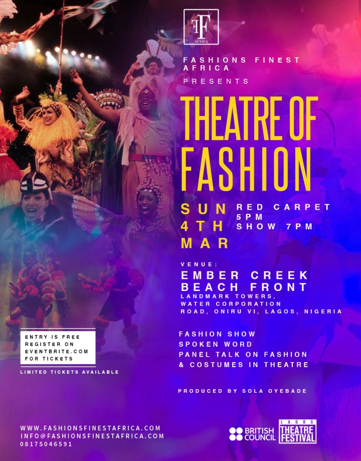 FASHIONS FINEST AFRICA PRESENTS 'THEATRE OF FASHION'