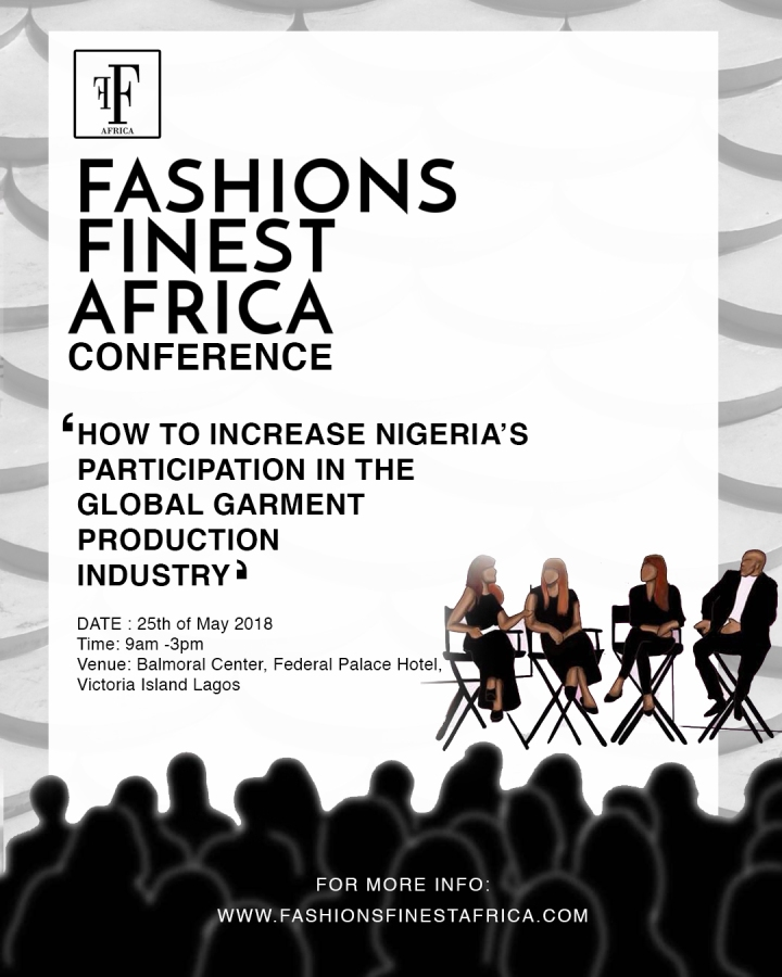FFA'S GARMENT AND FASHION INDUSTRY CONFERENCE SET TO TAKE PLACE MAY 25TH, 2018