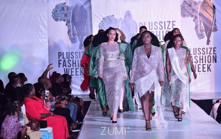 PLUSSIZE FASHION WEEK AFRICA 2018 DAZZLES ALL COMERS