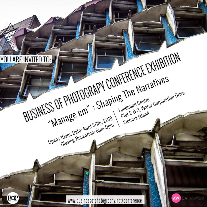 BUSINESS OF PHOTOGRAPHY CONFERENCE EXHIBITION | Tuesday 30th April, 2019 | INVITATION