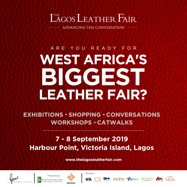 Meet some of the brands Exhibiting at The Lagos Leather Fair 2019