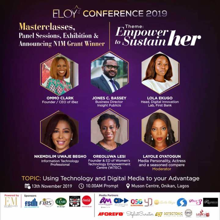 ELOY CONFERENCE 2019: MEET OUR PANELISTS(1)