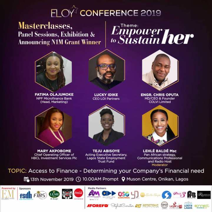 ELOY CONFERENCE 2019 | MEET PANELIST4.