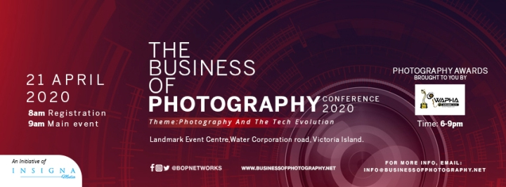 Welcome BOP Conference 2020; Photography and the Tech Evolution